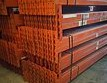 "Racking Beam RR Used 96""L x 4""H x 1.5""W  Orange"